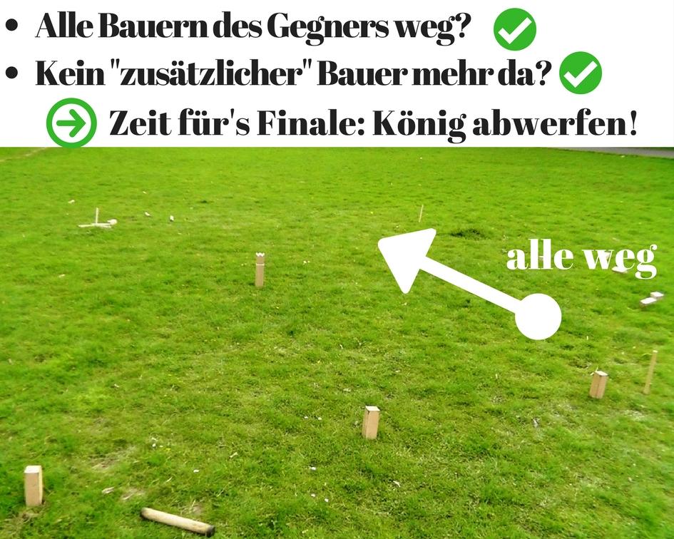 Wikinger Schach Spielregeln: Finale